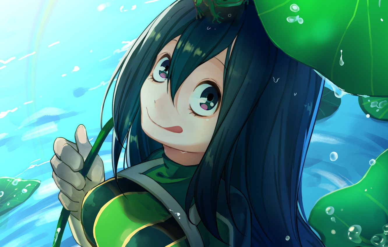 Wallpaper Girl Frogs Boku No Hero Academy My Hero Academy