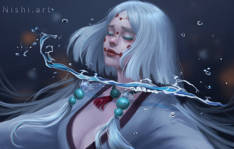 Photo wallpaper blood, spell, TRANS, the witch, black magic, by Nishi Hiku