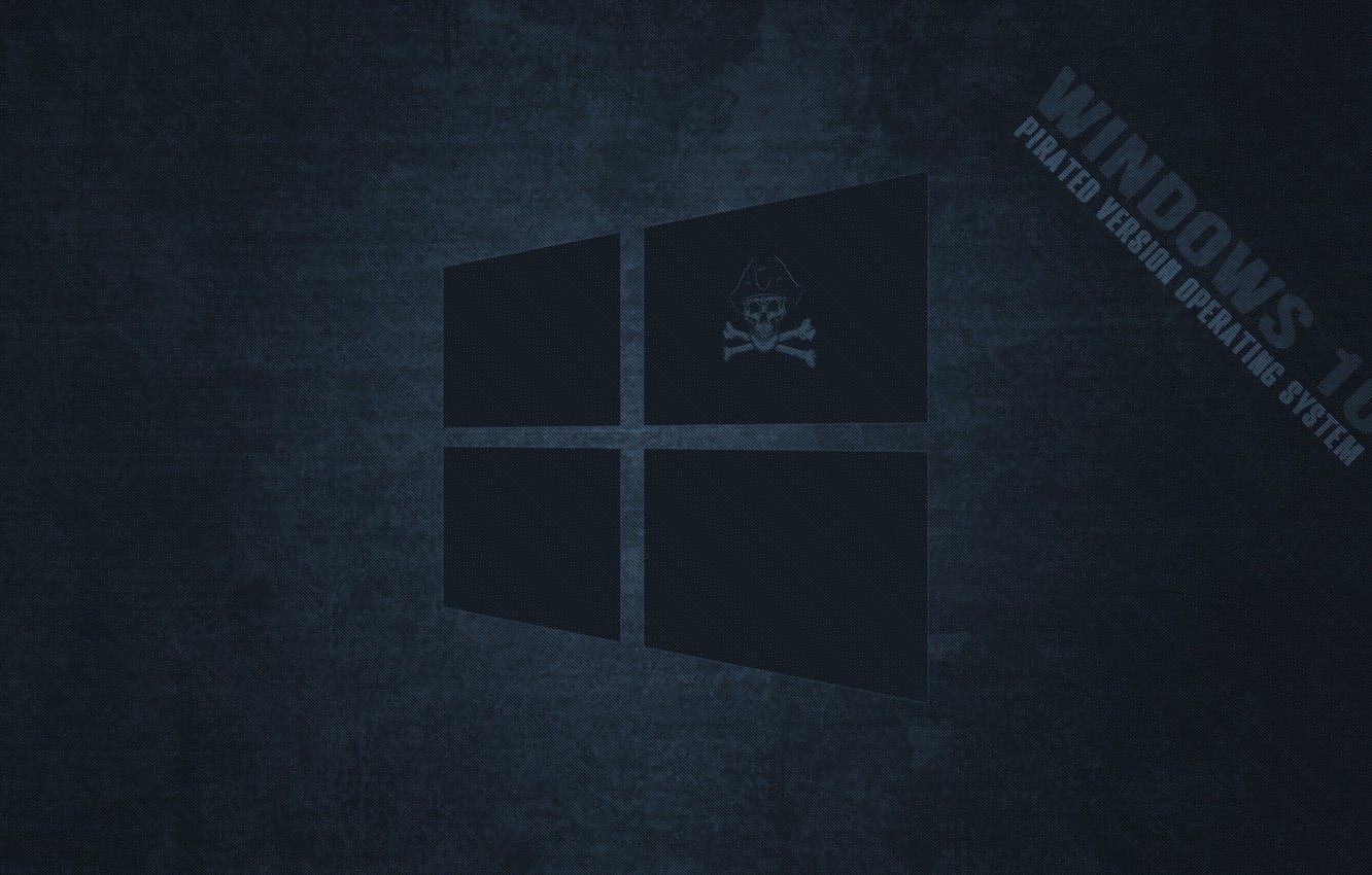 Wallpaper Pirate Windows Dark Windows 10 Images For Desktop Section Minimalizm Download