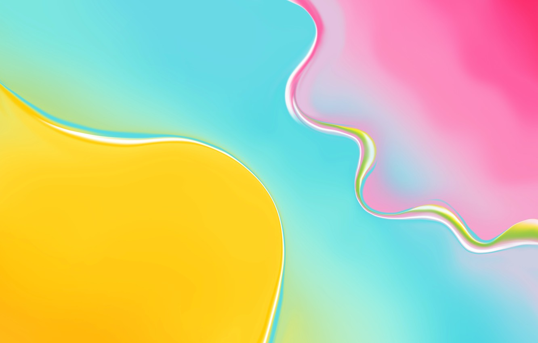 Photo wallpaper macro, line, paint, spot