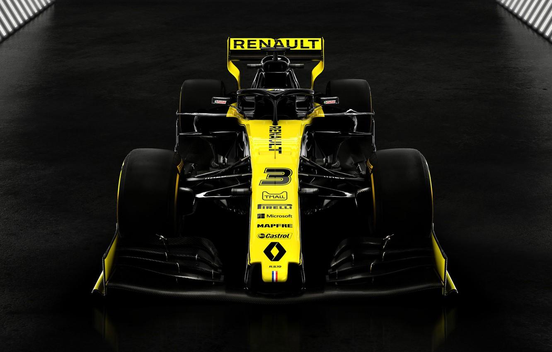 Photo wallpaper Renault, the car, Motorsport, 2019