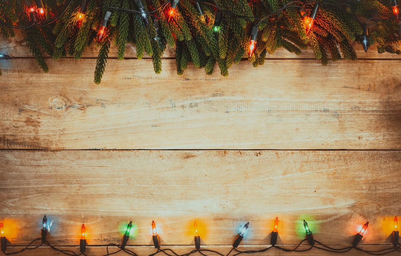 Wallpaper Decoration Colorful New Year Christmas Garland Christmas Wood New Year Decoration Merry Images For Desktop Section Novyj God Download