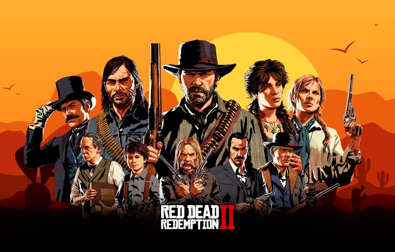 Wallpaper Games Rockstar Red Dead Redemption 2 Images For
