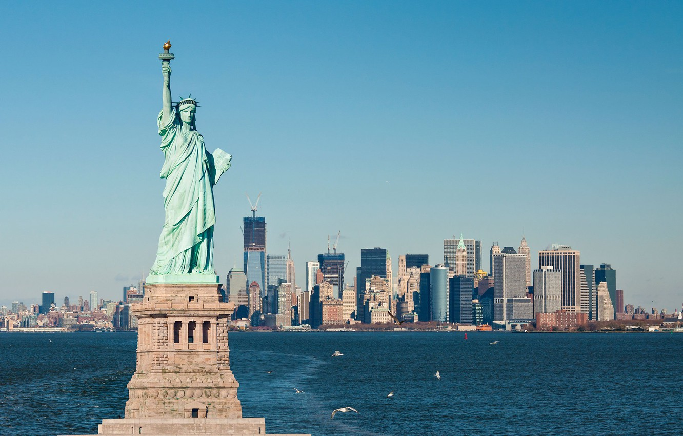 Wallpaper New York Usa The Statue Of Liberty Images For