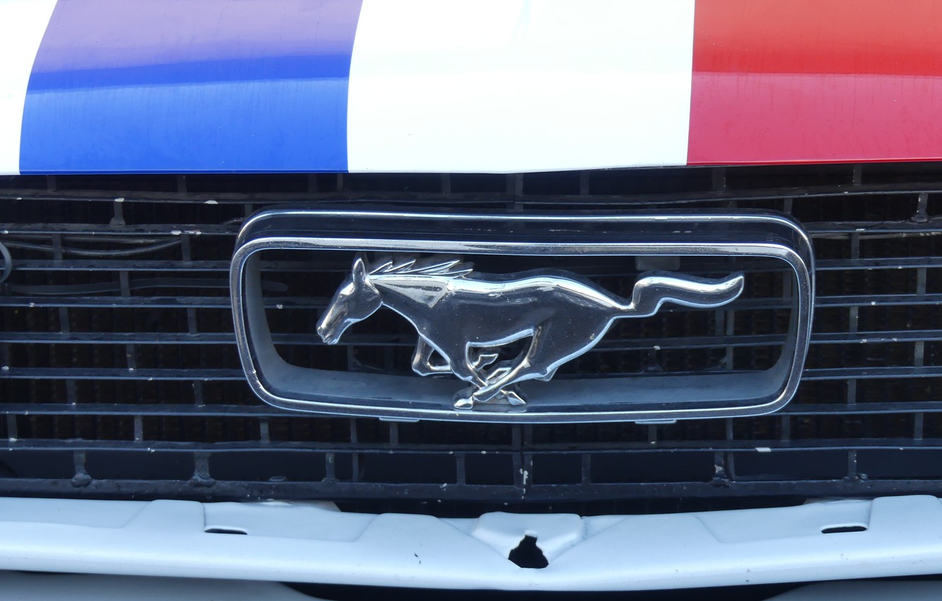 Photo wallpaper mustang, ford, french, castellet