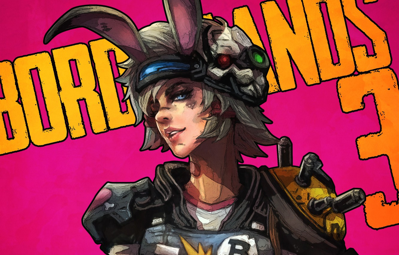 Photo wallpaper look, girl, art, ears, borderlands, tiny tina