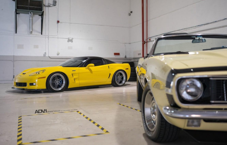 Photo wallpaper Chevrolet, Cars, Yellow, ADV 1
