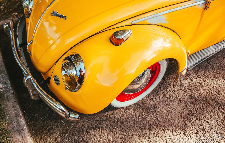Photo wallpaper Volkswagen, Beetle, Moises Alex