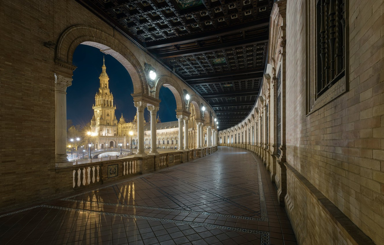 Photo wallpaper Architecture, Cityscape, Andalucia, Privileges of Seville