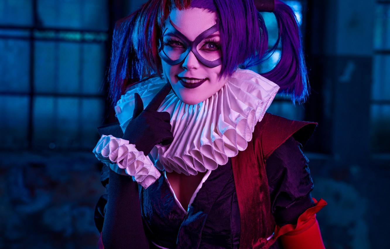 Photo wallpaper cosplay, Harley Quinn, Batman Ninja, Mikhail Davydov