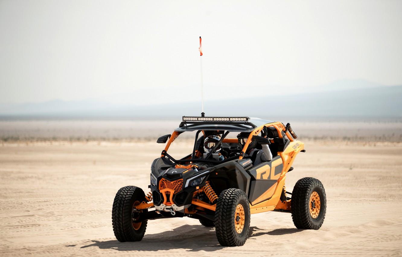 Photo wallpaper sand, desert, Can-Am, Maverick X3 RC