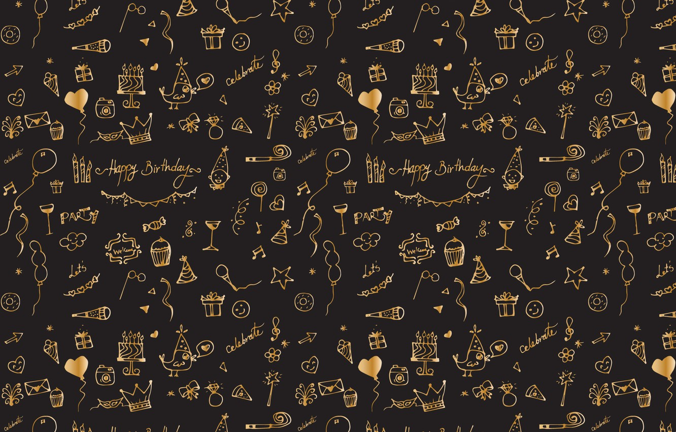 Photo wallpaper background, black, texture, design, pattern, Celebration