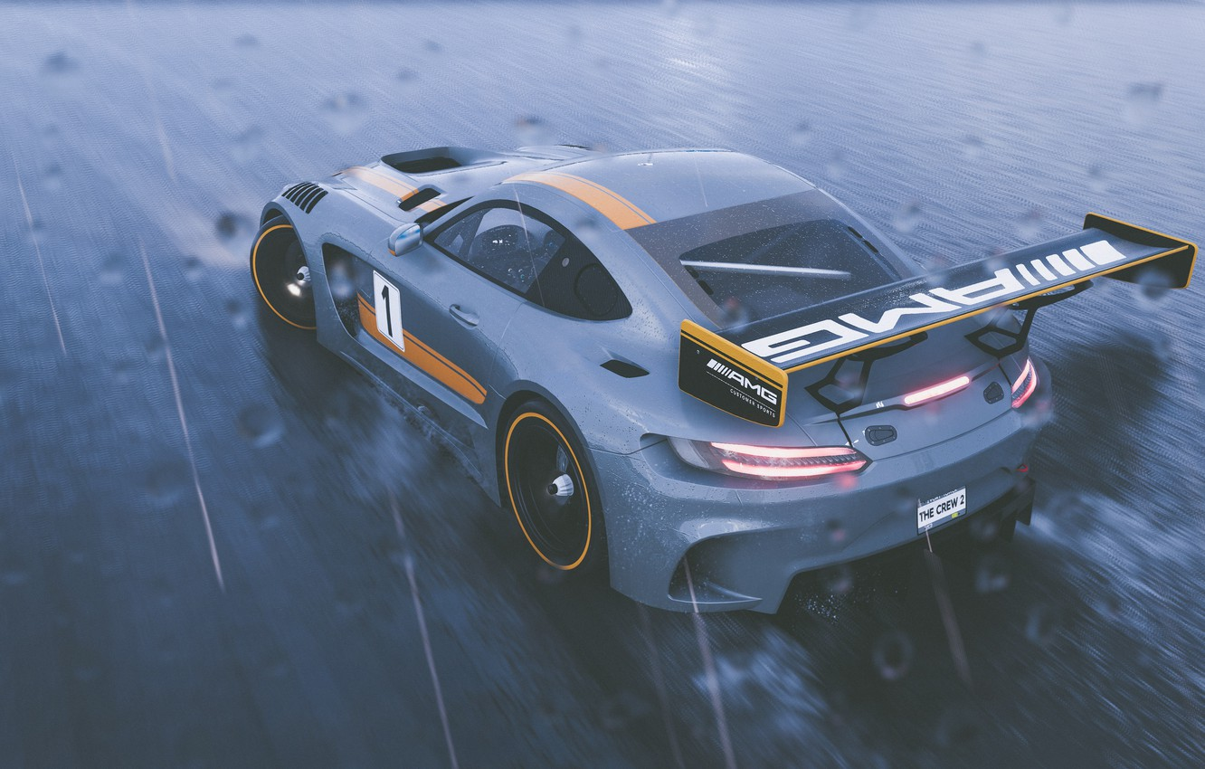 Wallpaper Mercedes-Benz, GTR, game, AMG, Ubisoft, The Crew 2 images