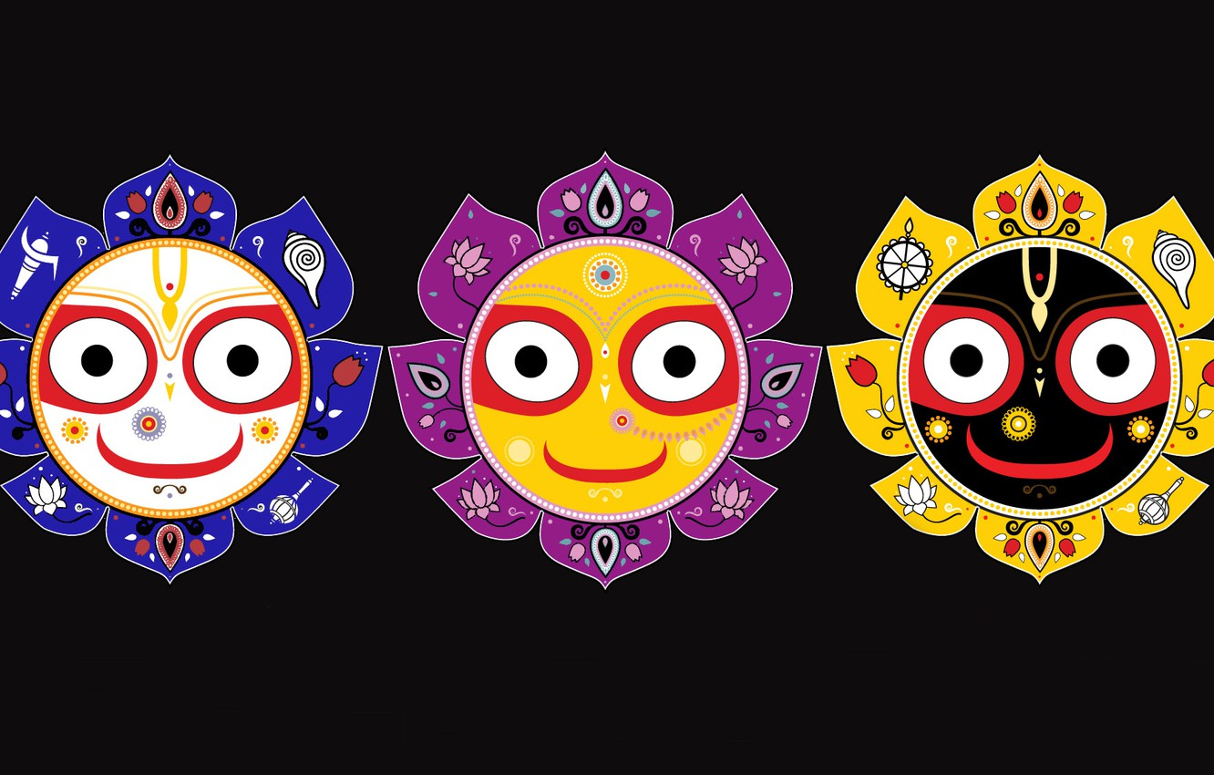 Wallpaper Baladev Jagannath Subhatra Rath Yatra Images For Desktop Section Minimalizm Download