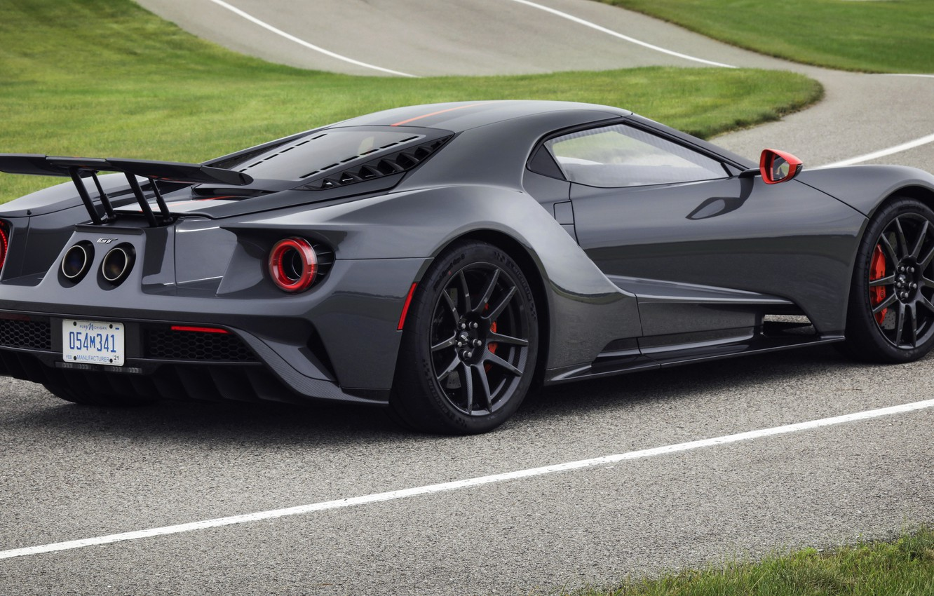 Photo wallpaper coupe, Ford, Ford GT, track, 2019, Carbon Series Edition