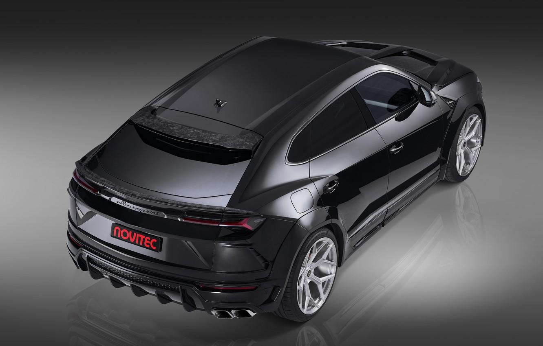 Photo wallpaper Lamborghini, rear view, crossover, Urus, Novitec, 2019