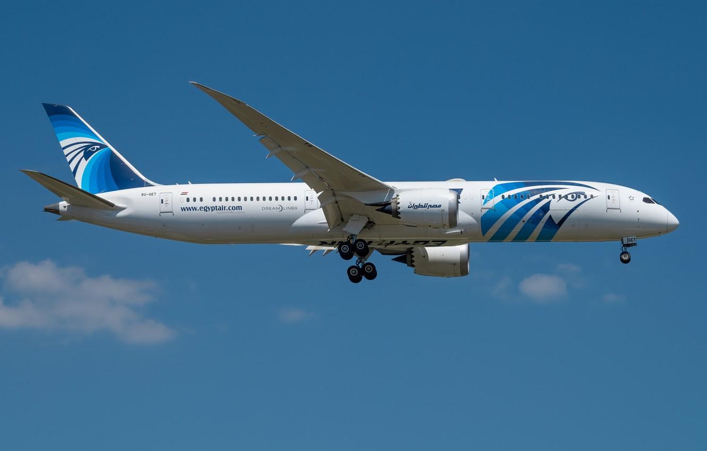 Photo wallpaper Boeing, Dreamliner, 787-9, Egypt Air