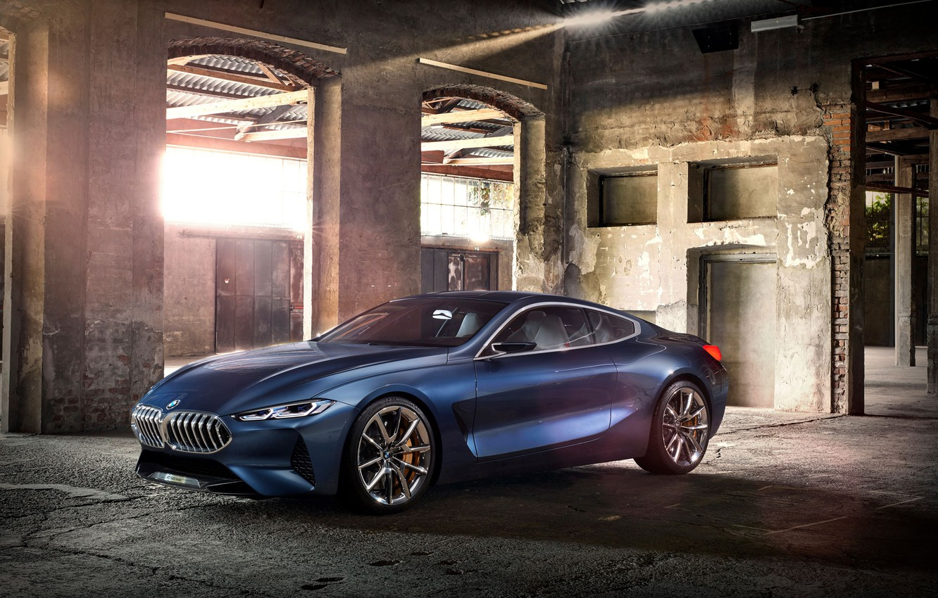 Photo wallpaper Concept, coupe, Gran Turismo, BMW 8, 8-Series, the eighth series