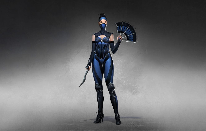 Wallpaper Girl Minimalism Style Girl Warrior Fighter Style