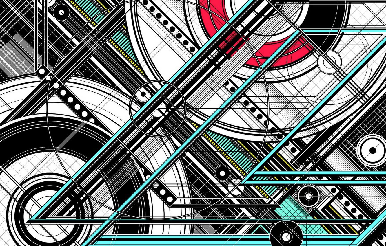 Photo wallpaper design, color, form
