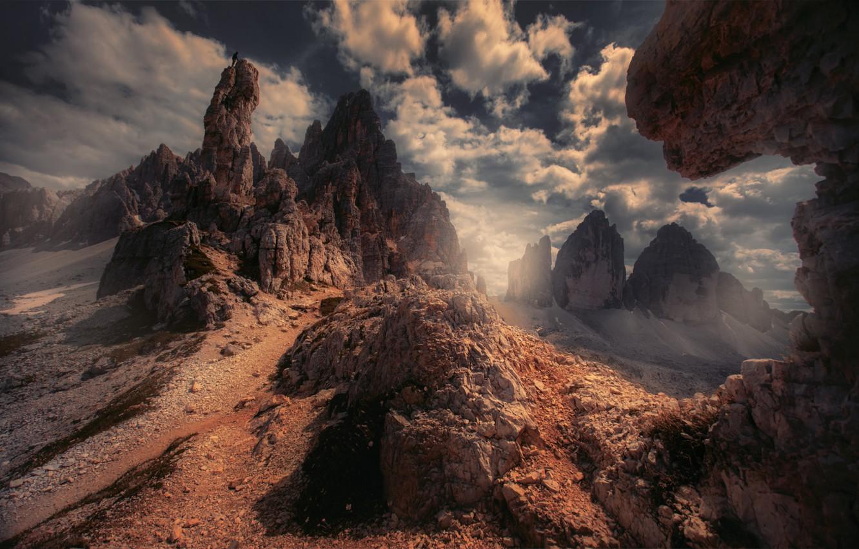 Photo wallpaper mountains, rocks, Michaluk Sergey