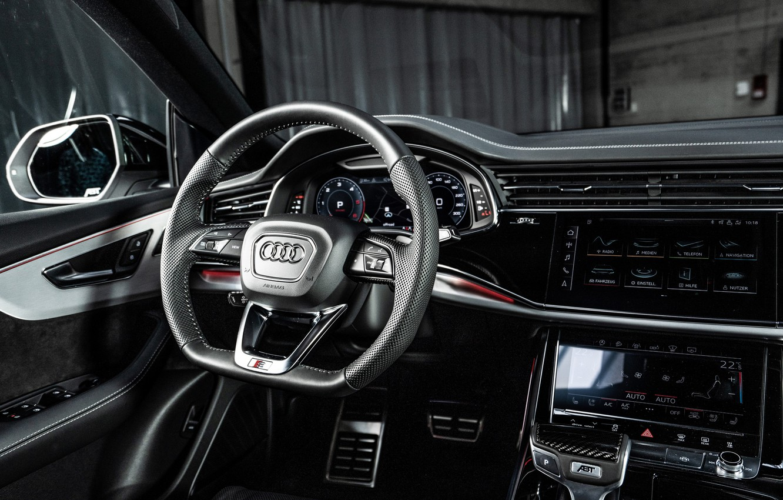 Photo wallpaper Audi, salon, crossover, ABBOT, 2019, Audi Q8