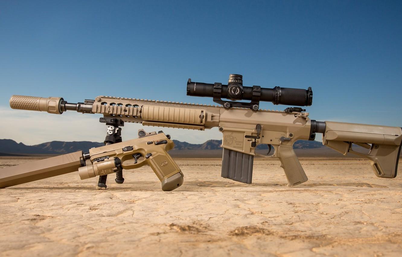 Photo wallpaper weapons, pistol, rifle, weapon, muffler, custom, ar-15, assault rifle, assault Rifle, silencer, ar-15, ar 15, …