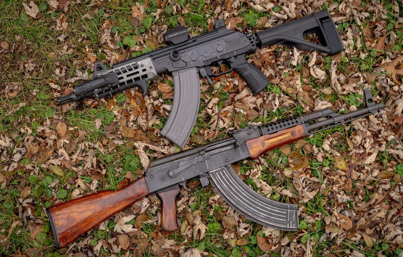 Photo wallpaper weapons, tuning, Machine, Gun, weapon, custom, Kalashnikov, Custom, AKM, Assault rifle, Russian, AKM, assault rifle, …