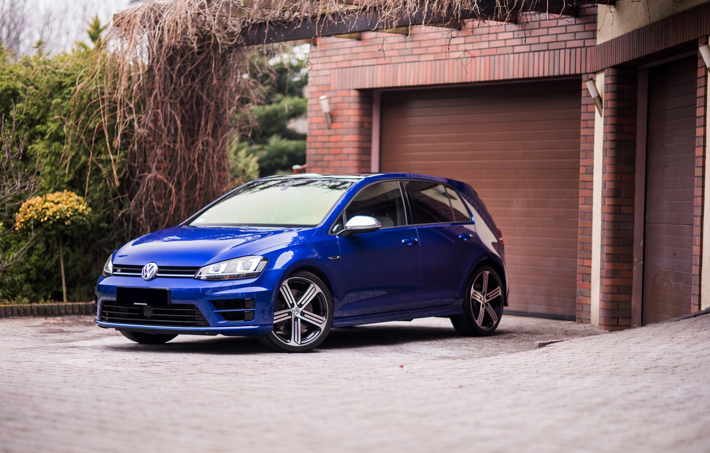 Photo wallpaper Volkswagen, Golf, mk7, CAR, SPA