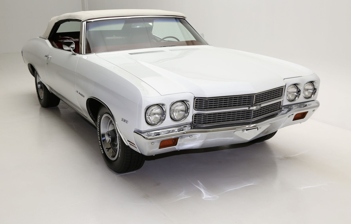 Photo wallpaper Chevrolet, Convertible, Chevelle SS, Muscle classic