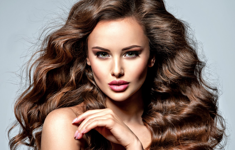 Wallpaper Girl Hair Hand Makeup Hairstyle Curls Valua Vitaly Images For Desktop Section Devushki Download