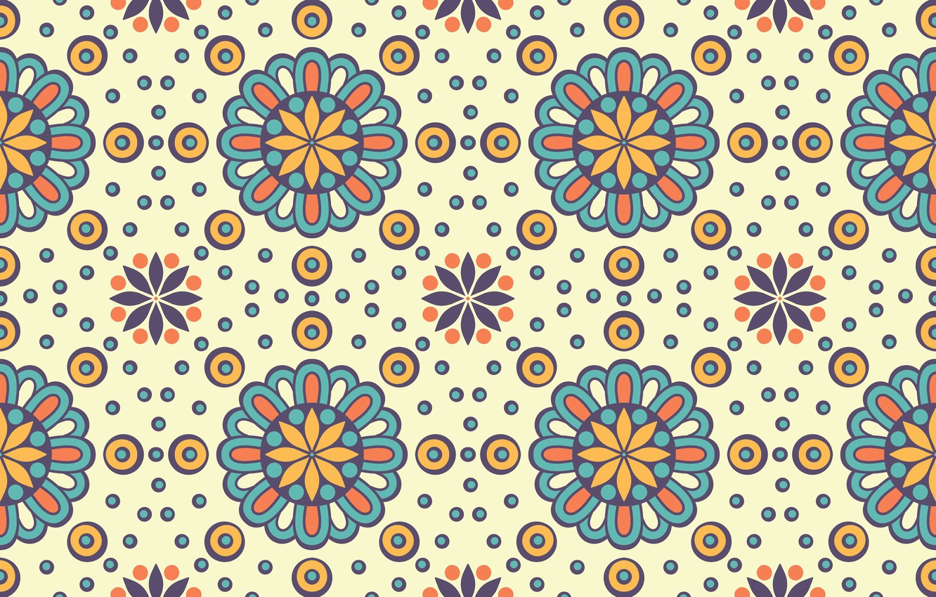 Photo wallpaper circles, background, pattern, texture, ornament, pattern, Background