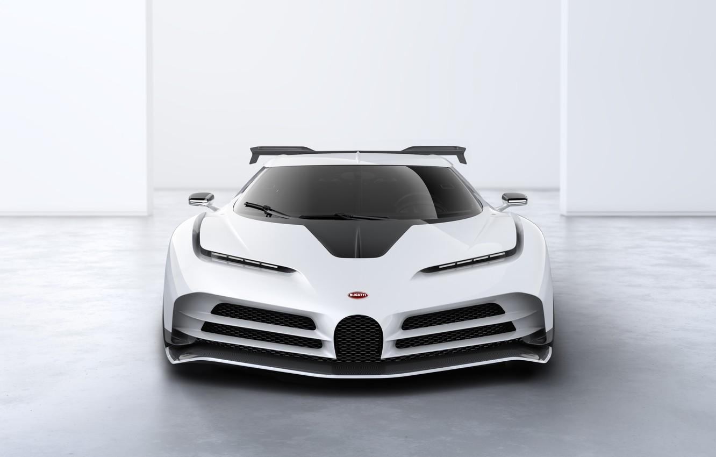 Photo wallpaper Bugatti, Lights, Hypercar, Icon, Sportscar, 2020, One hundred and ten, Bugatti Centodieci