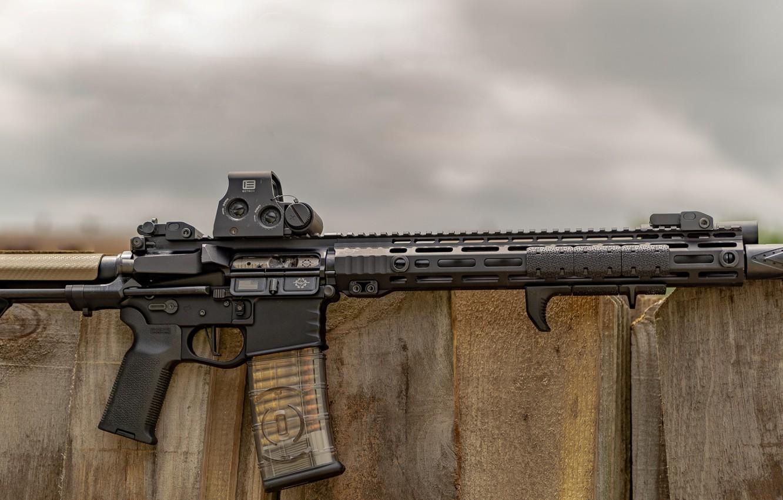Photo wallpaper weapons, weapon, custom, ar-15, assault rifle, assault rifle, assault Rifle, ar-15