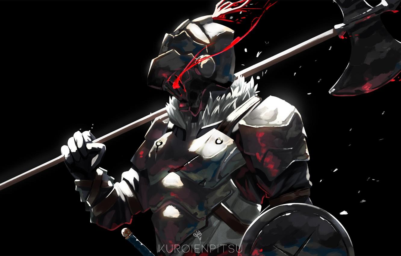 Photo wallpaper armor, helmet, knight, Goblin Slayer