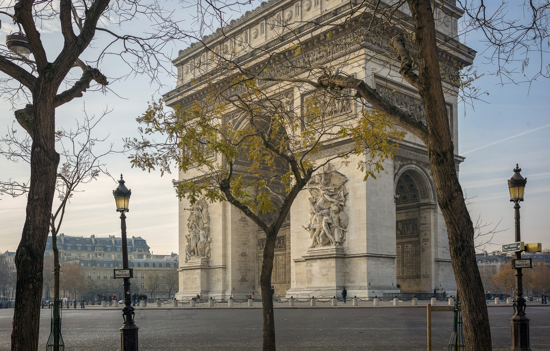 Photo wallpaper France, Paris, Arch