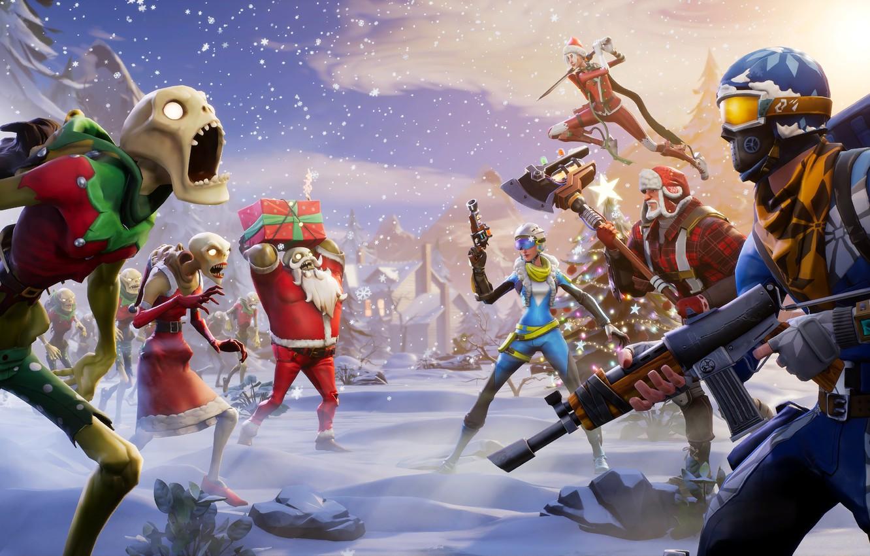 Epic Games, Fortnite, Winter Season