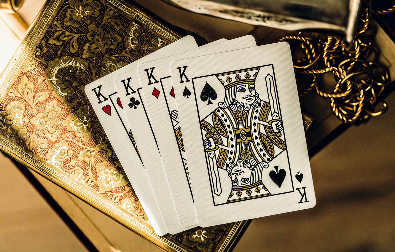 Photo wallpaper card, king, Kare, four