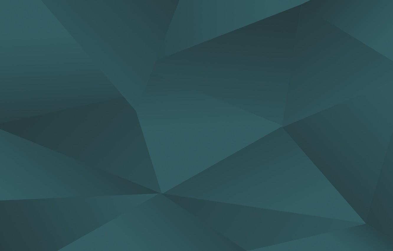 Photo wallpaper triangles, minimalism, vector graphics