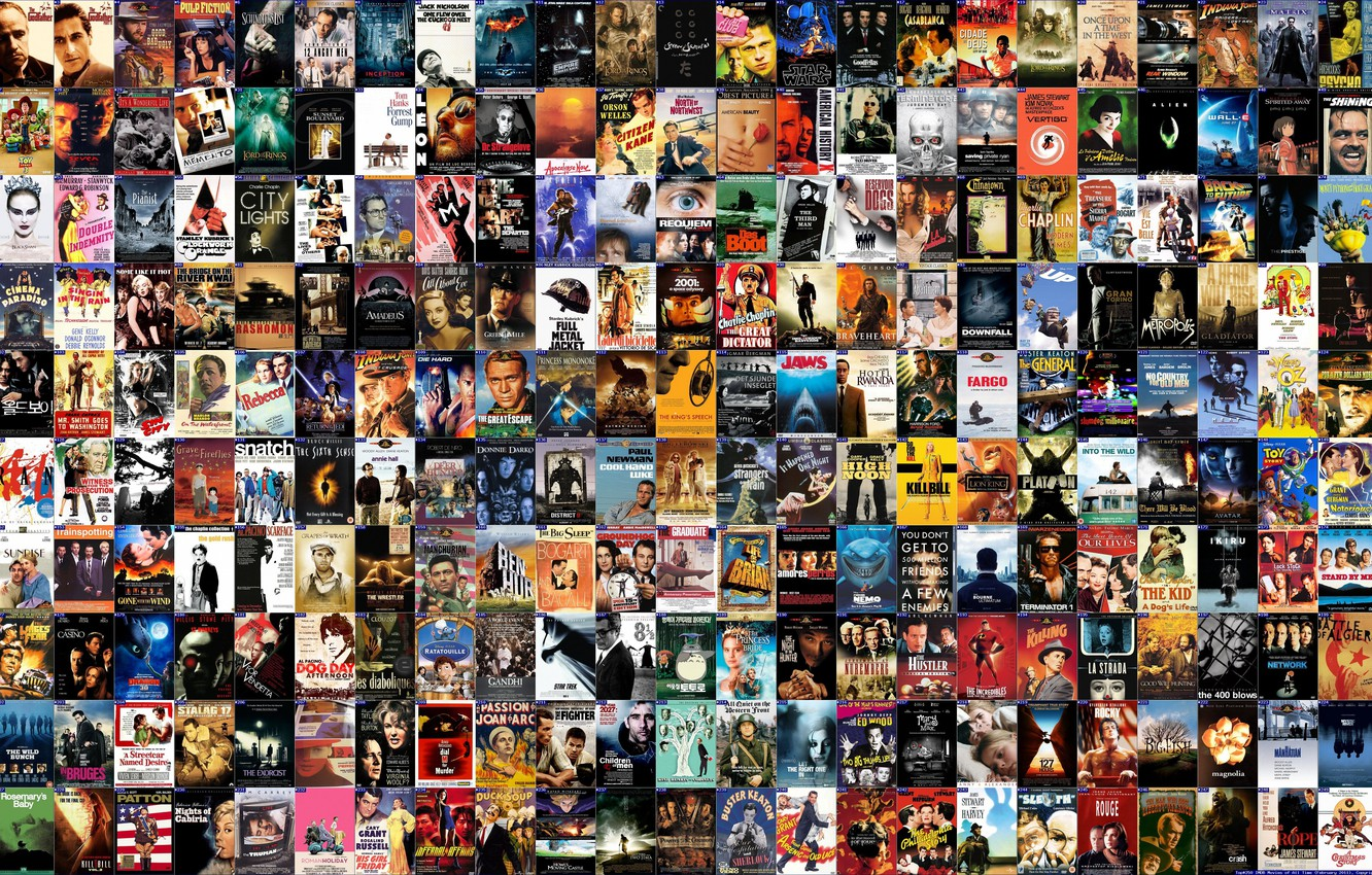 Photo wallpaper Movie, Film, Poster, Top 250 movies