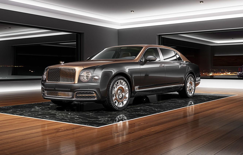 Photo wallpaper Auto, Bentley, Machine, Rendering, Bentley Mulsanne, Mulsanne, Transport & Vehicles, by Damian Bilinski, Damian Bilinski, …