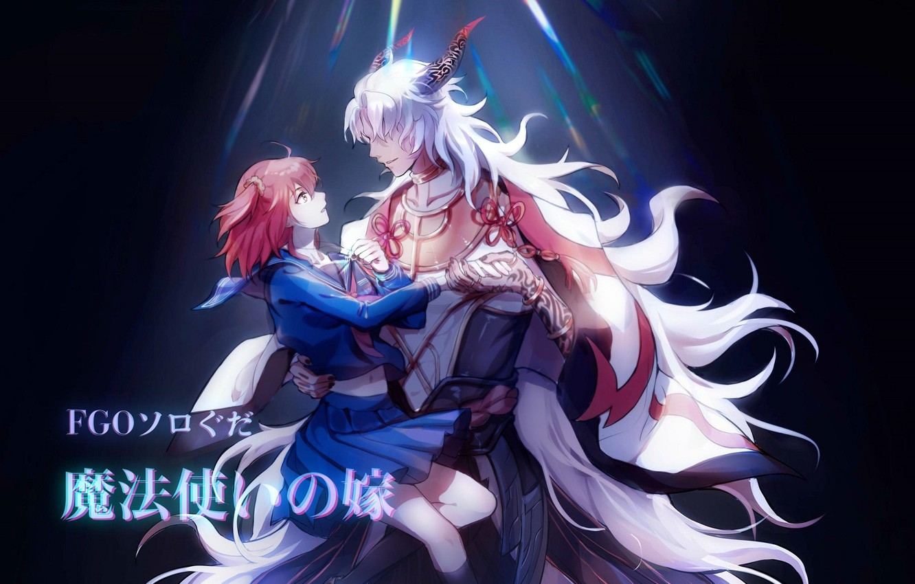 Wallpaper Anime Art Two Fate Grand Order Images For