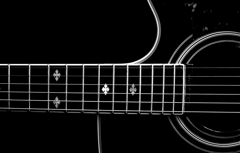 Photo wallpaper music, guitar, strings