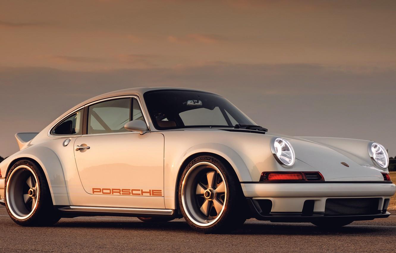 Photo wallpaper 911, Porsche, 2018, Singer DLS, Singer Vehicle Design