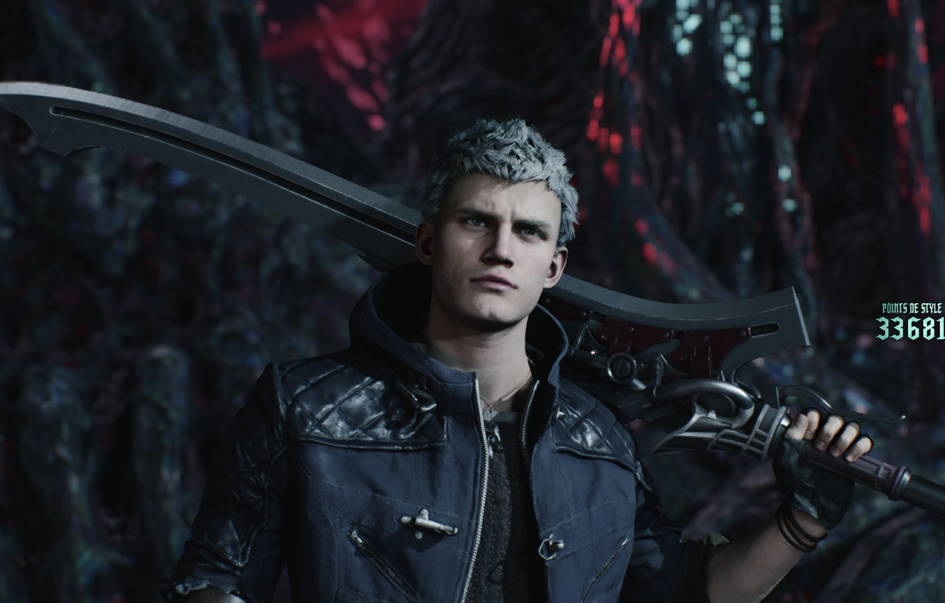 Wallpaper Sword Guy Nero Devil May Cry 5 Even Devil May Cry