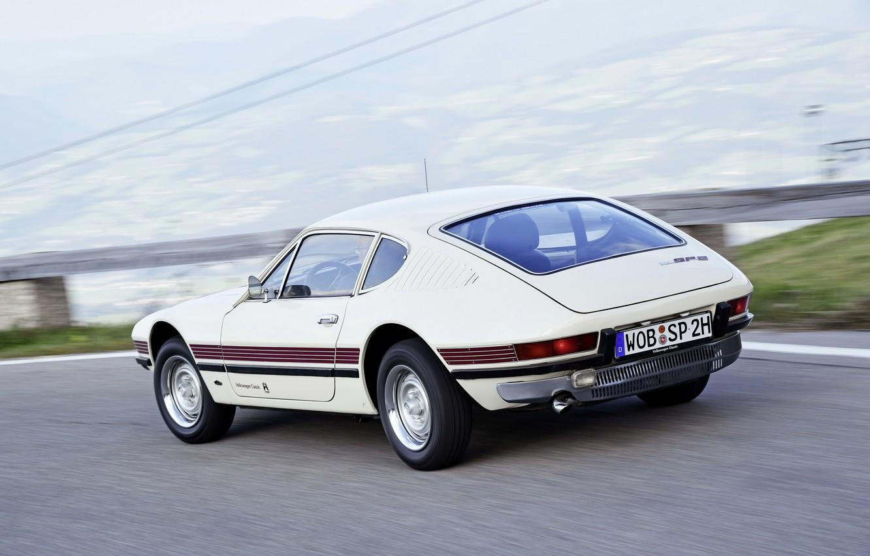 Photo wallpaper road, coupe, Volkswagen, 1972, 1974, SP2