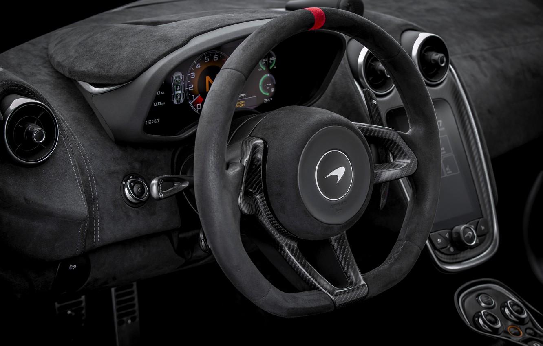Photo wallpaper coupe, McLaren, the wheel, 2020, V8 twin-turbo, 620R, 620 HP, 3.8 L.