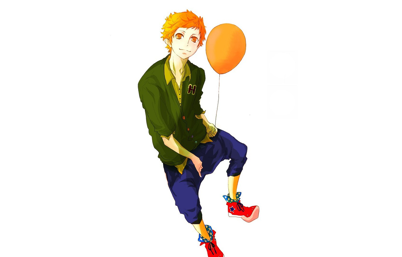 Photo wallpaper ball, guy, Starry Sky, Starry★Sky, visual novel, anime (2011)