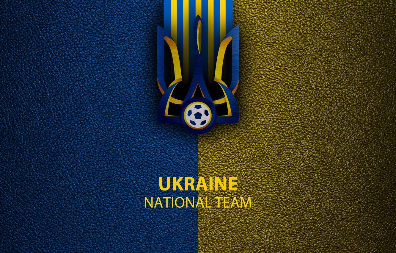 Photo wallpaper wallpaper, sport, logo, football, Ukraine, National team