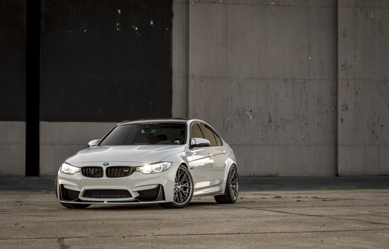 Photo wallpaper BMW, Light, White, F80, LED, M3